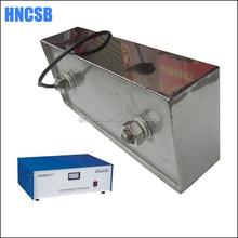 Hard chromium plated ultrasonic immersible cleaner