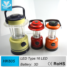 Modern 16 LED Plastic Outdoor Fish Light for tent