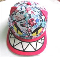 2015 the lovely Monster broken flower sun hats