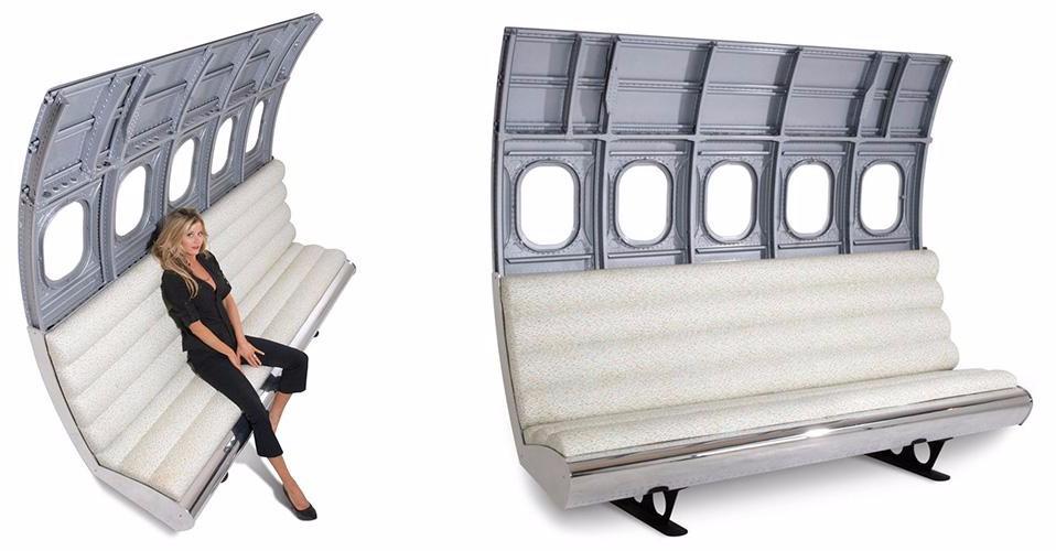 Авиатор металл фюзеляжа диван сидения для продажи