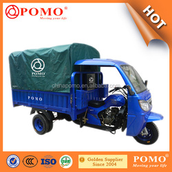 2016 Popular Strong Heavy Load Water Cooled Motorized 300cc Tricycle Differential