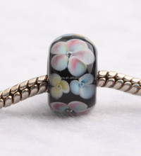 JP180 New Style Murano Glass Beads Fit for 3MM European Jewelry Accessories