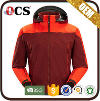 Fashion European Style customize winter softshell jacket for winters