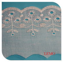 Embroidery Fabric TC Lace, T/C Lace for Textile