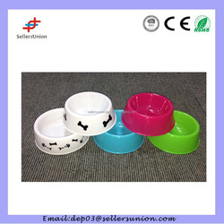personalized plastic dog bowl