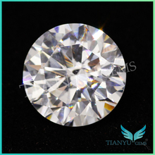 Free Sample Gemstone wholesale Round Brilliant Faceted Best Simulated Diamonds
