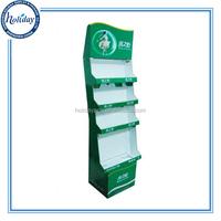 Disposable Paper Mascara Display Shelf Rack Unit,Cardboard Pop Cosmetic Display Shlef