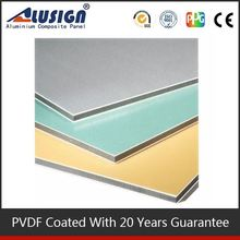 Alusign hot sell standard size 4''*8'' acp building finishing materials