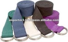 exercise Belts / 8' Cinch Buckle Cotton Yoga Belt
