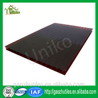 4mm advertising polycarbonate sheet carport roofing material