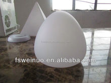 Magic LED egg light for Decorations/LED table and desk Lamps/Cute colorful led peach light for home decoration