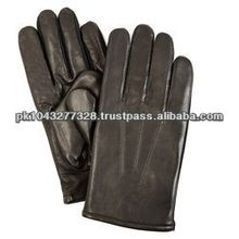 Men's Wool Lined Leather Gloves
