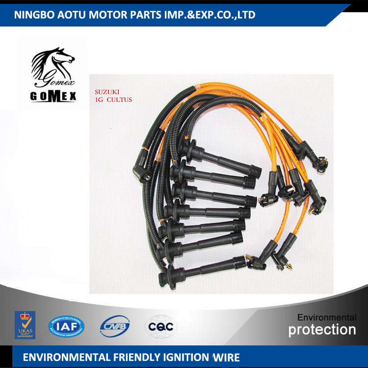 High Voltage Silicone Ignition Wire Set Ignition Cable Kit
