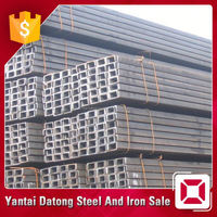 Box Iron Hot Rolled Galvanized Channel Steel