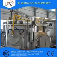 3-50T High Energy Efficiency Nature Gas Fired Aluminium Melting Furnace