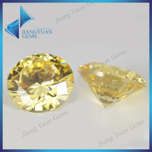 Hot sale high quality round shape cubic zirconia gemstone