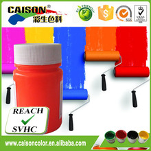 Shanghai factory Fluorescent pigment orange colorants for inks