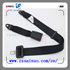 Hot selling 2 point car back row seat belt of customized