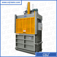 more than 20 years factory CE,ISO certificate Vertical waste paper compressing and recycling machine