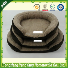 2015 new tunnel tufted oval, plush pet bed