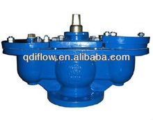 Air vent valve with twin SS304/ABS ball