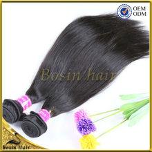 HOT!!! Top Selling 100% human hair Virgin Remy Hair Weaving permanent hair extensions