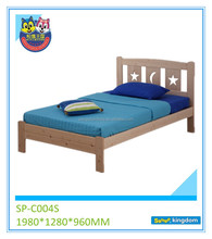 childrens bedroom furniture, solid wood double bed, car bed kids