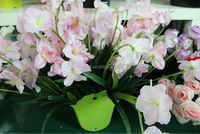 Artificial single daffodil flower with good quality
