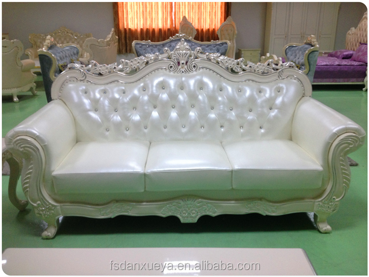Wholesale nice modern white leather sofa for sale french for Nice sofas for sale