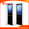 standing metal frame led advertisement display board
