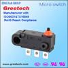 SPDT SPST miniature mechanical micro switch push button