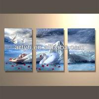 Popular modern handpainted abstract canvas art factory manufacturer