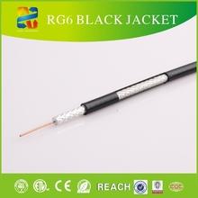 75 rg6 ohmios de circuito cerrado de televisión por cable coaxial con rohs, etl, circuito cerrado de televisión