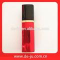 Venta al por mayor de aluminio de diseño 5-100ml tamaño de colores de vidrio botellas perfume atomizador