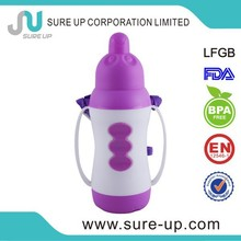 Promotion gift for baby plastic body bpa free eco-friendly thermos flask (FGUL)