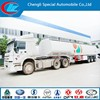 3 axle 55000L fuel tanker semi trailer in low price for sale in hubei