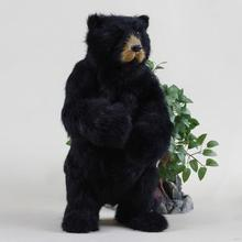 Modern stylish dancing christmas bear toys
