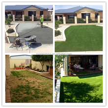 Premium artificial grass Four Color Synthetic Grass For landscaping