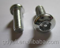 pan head stainless steel torx security screw for machine