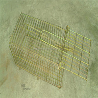 Live Humane Collapsable Raccoon Cage Trap