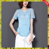 Fashion woman chiffon blouse & fashional ladies dress shirts
