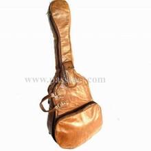Leather Guitar case bag, guitar pickups