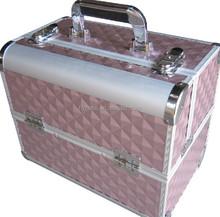 Fashional aluminum makeup case for ladies