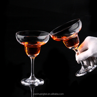 Wide mouth crystal wine glass goblet,cocktail Wedding glass champagne Flute giant champagne glass