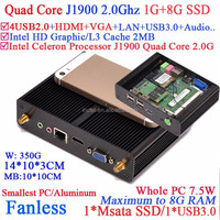 Hot sell gaming pc quad core J1900