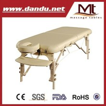 "MT "" Luban-Vitae"" Physical therapy Wooden Massage table/foldable massage table"