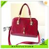 2015 party shopping traveling lady zipper handbag in fashion