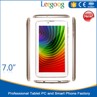 Wholesale Tablet PC 7 Inches Android 4.0 os 1G+8G Memory 3G Tablet Wifi Bluetooth Tablet Android
