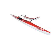 Carbon fiber (fiberglass) OC1 single outrigger canoe