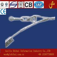 ADSS fence top rail end aluminum casting cap round post cap die casting